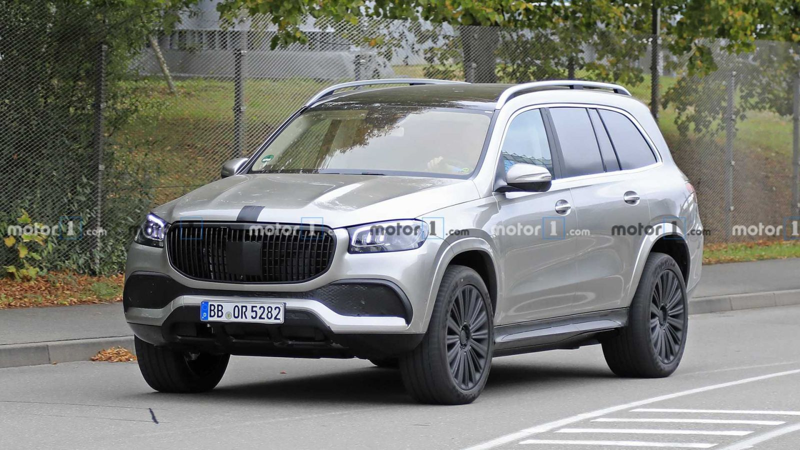 Mercedes Maybach Gls Spied Without Any Camo News Karabakh Motors